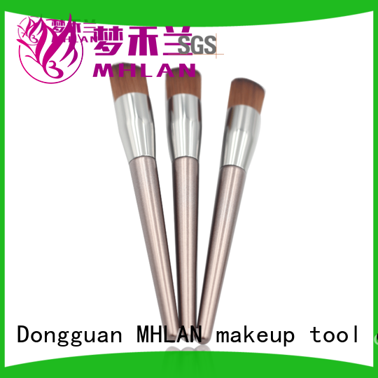 custom compact powder brush from China for beauty