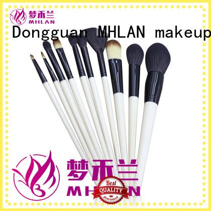 MHLAN custom full makeup brush set supplier for distributor