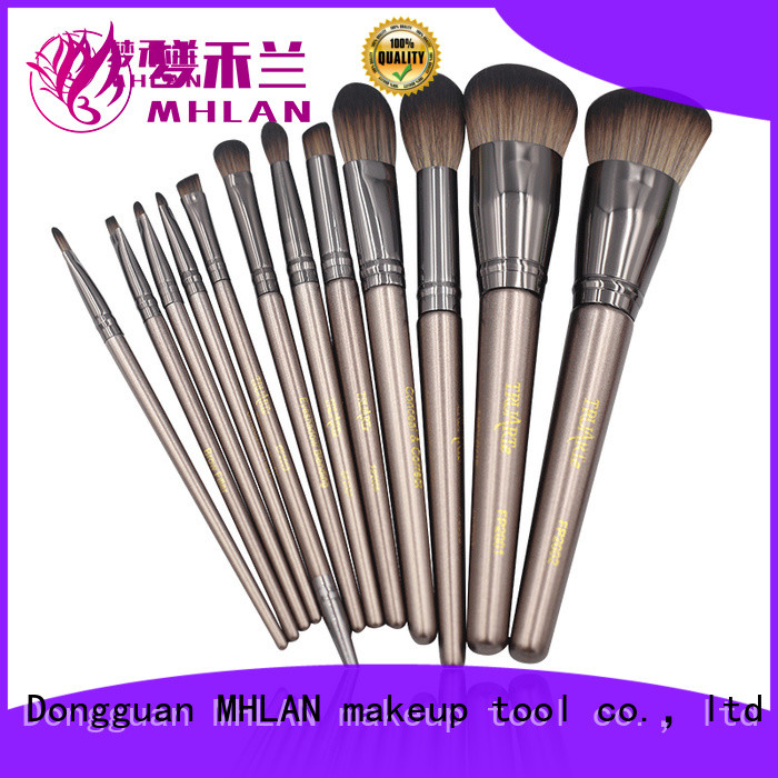 MHLAN makeup brush set low price supplier for distributor