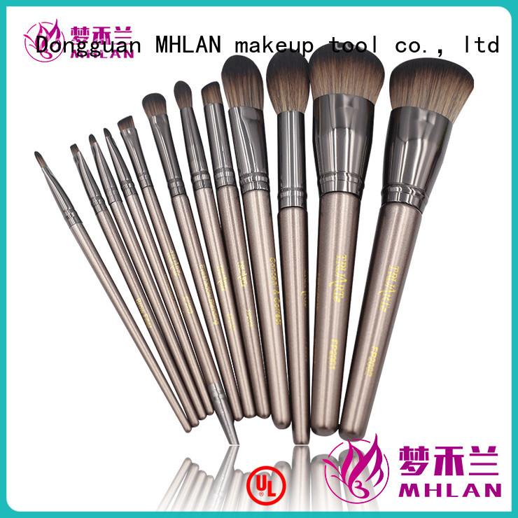 MHLAN 100% quality makeup brush kit supplier for distributor