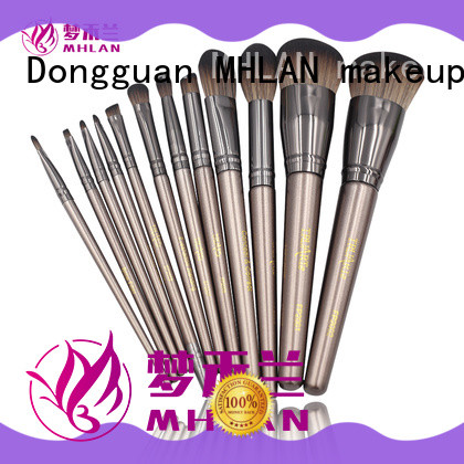 MHLAN cosmetic brush set from China for distributor