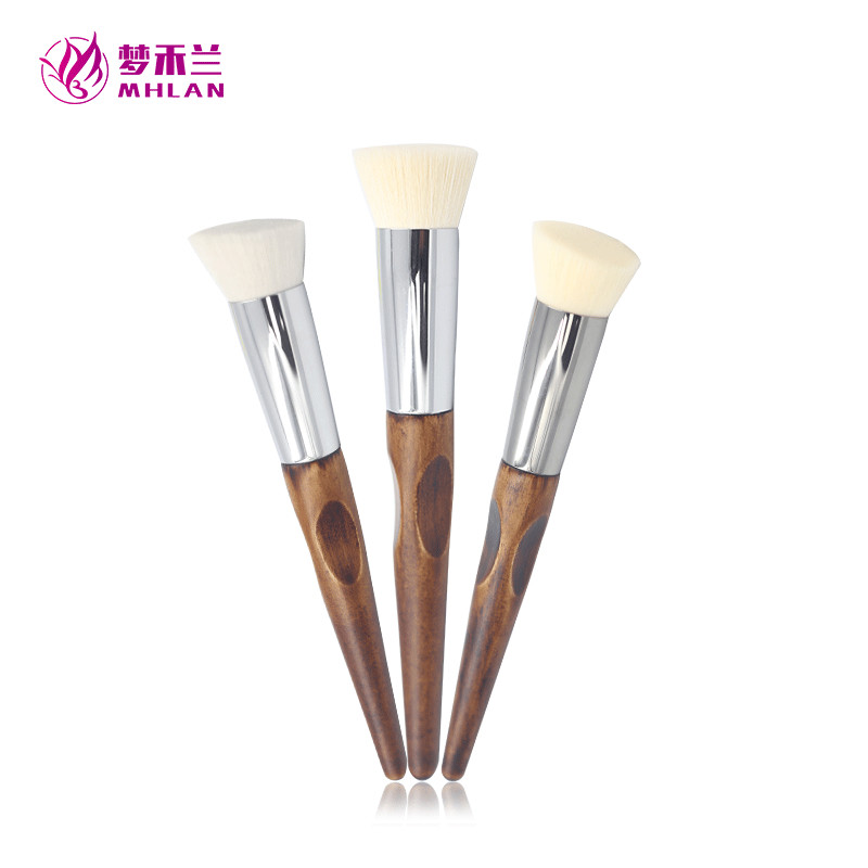 Customized retro sandalwood portable makeup tools