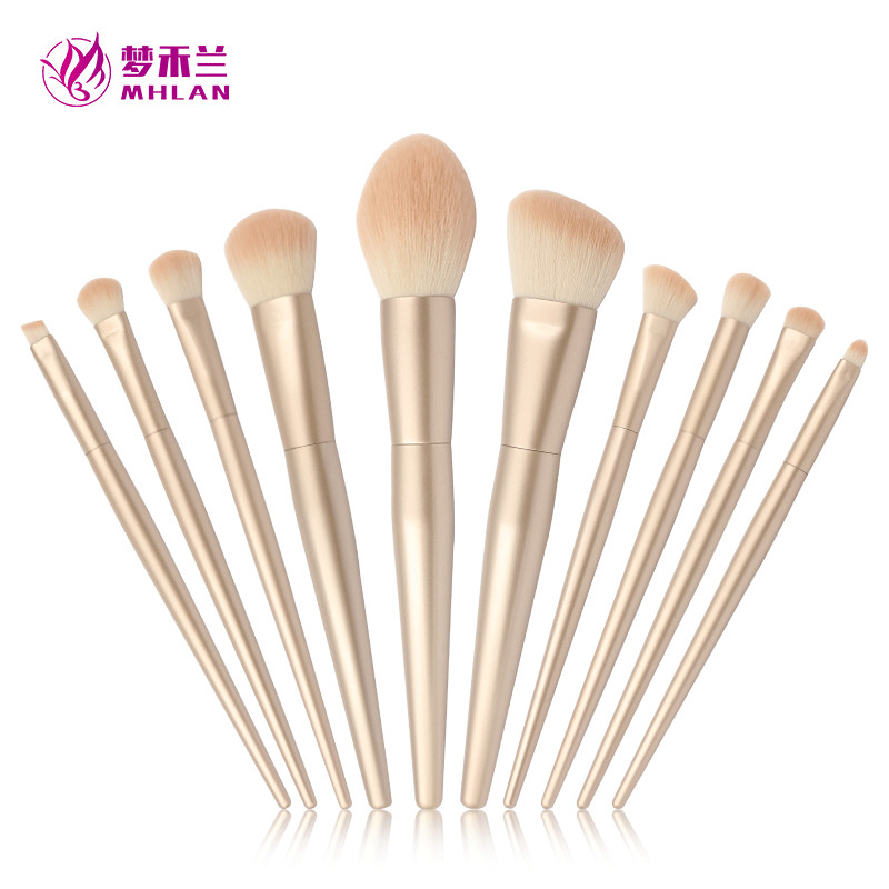 Affordable Sephora rose gold 10 pcs makeup brush set