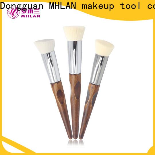 MHLAN custom flat kabuki brush supplier for women