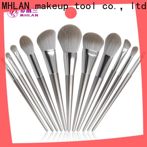 MHLAN 100% quality face makeup brush set supplier for distributor