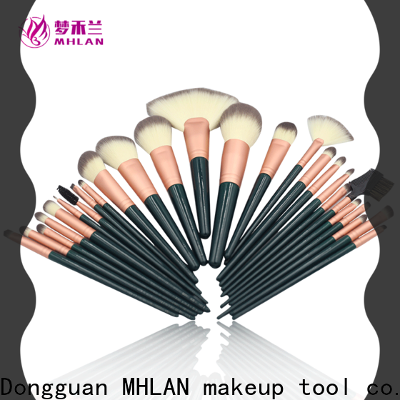 MHLAN 100% quality cosmetic brush set manufacturer for wholesale