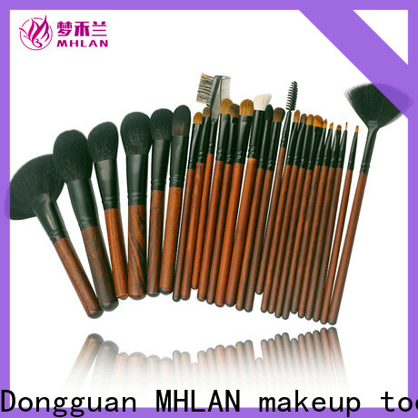 MHLAN custom face brush set from China for cosmetic
