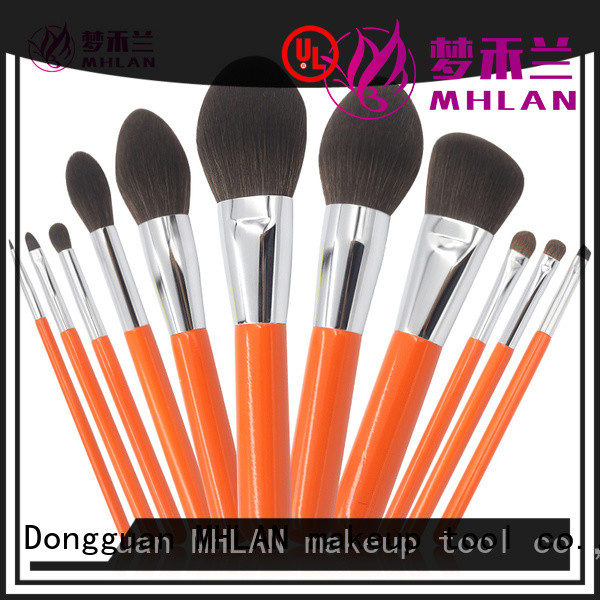 MHLAN custom cosmetic brush set factory for wholesale