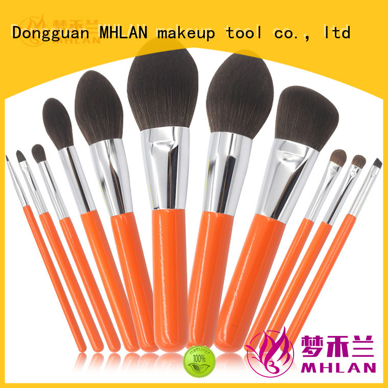 MHLAN 100% quality makeup brush set supplier for wholesale