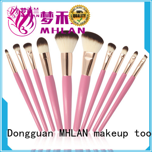 MHLAN cosmetic brush set factory for distributor