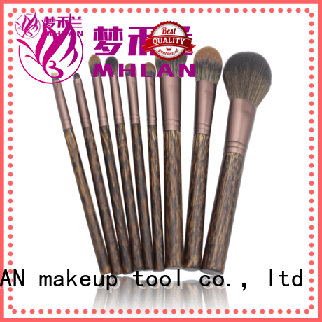 MHLAN multipurpose professional makeup brushes supplier for cosmetic
