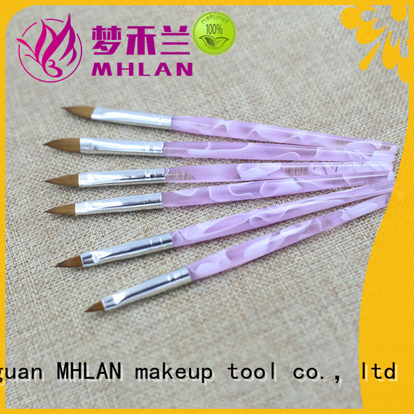 MHLAN simple nail brush set factory for distributor