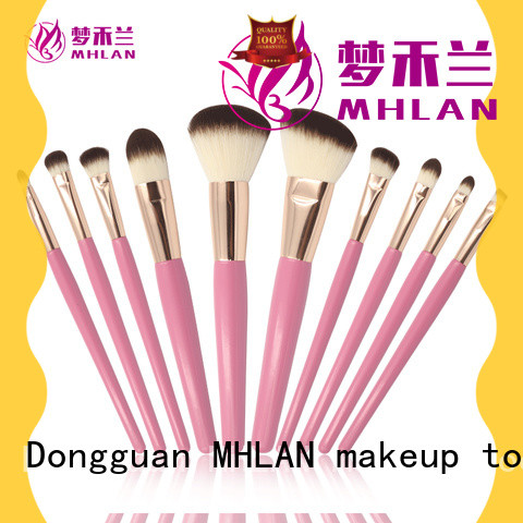 custom face brush set from China for cosmetic