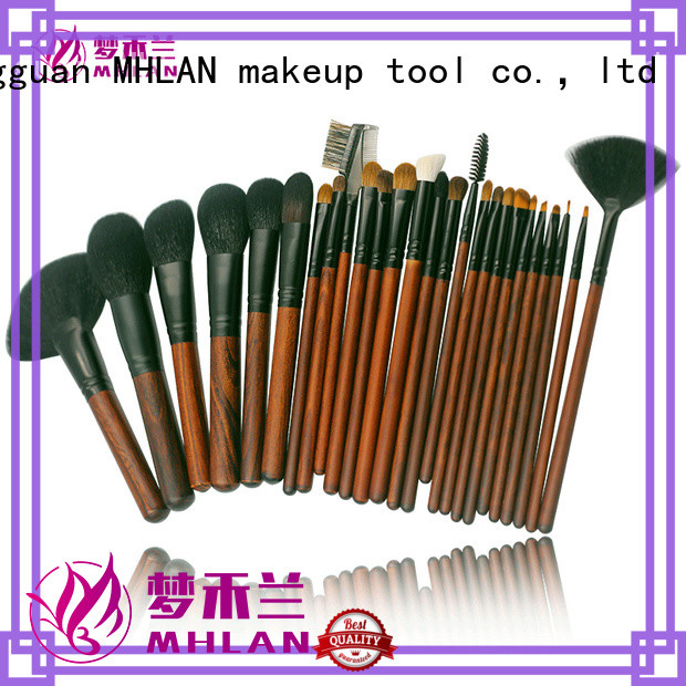 MHLAN 100% quality kabuki brush set factory for cosmetic