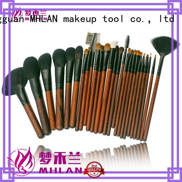 MHLAN 100% quality kabuki brush set factory for cosmetic