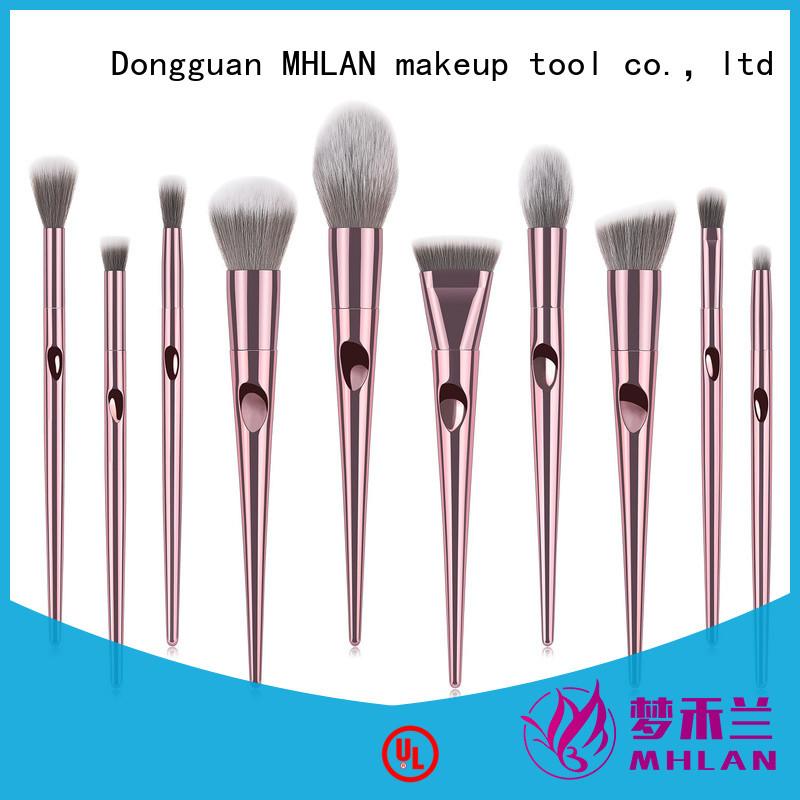 MHLAN kabuki brush set from China for cosmetic