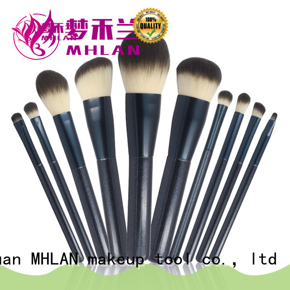 MHLAN 100% quality makeup brush set low price factory for wholesale