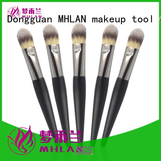 MHLAN natural hair makeup brushes manufacturer for sale