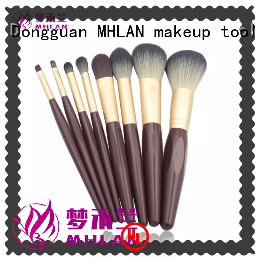 MHLAN modern professional makeup brushes factory for sale