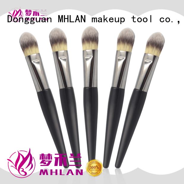 MHLAN fashion angled makeup brush manufacturer for sale
