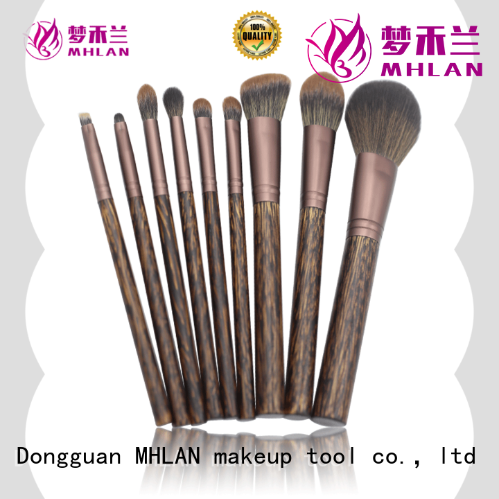 MHLAN modern natural hair makeup brushes supplier for wholesale