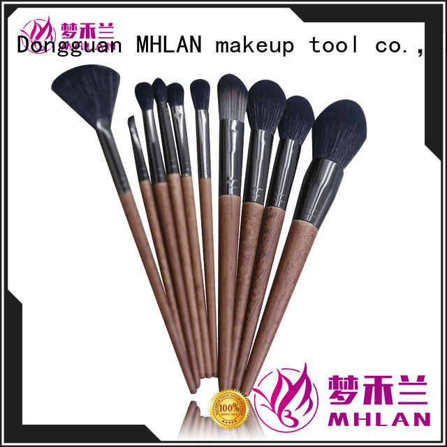 MHLAN custom makeup brush set cheap from China for wholesale