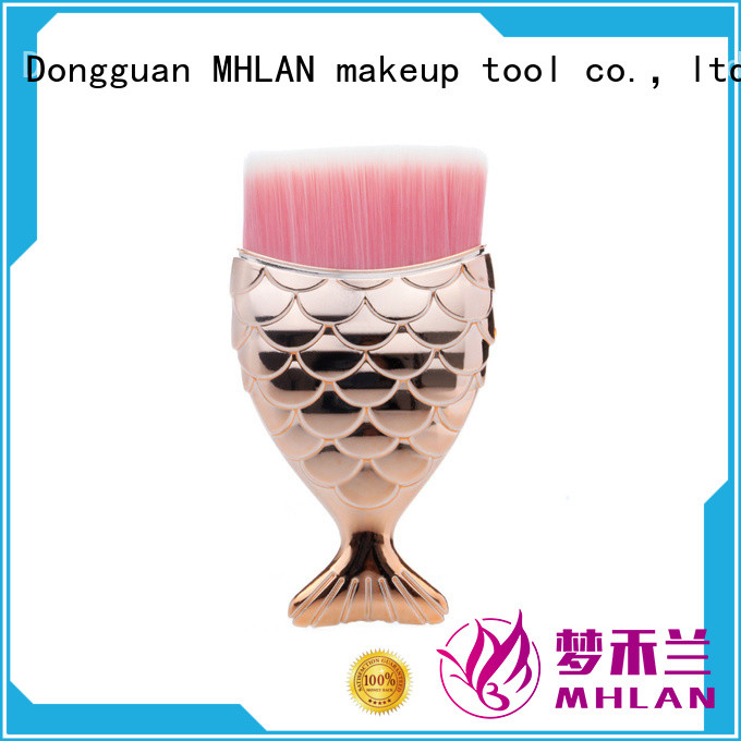 MHLAN delicate refillable powder brush from China for distributor