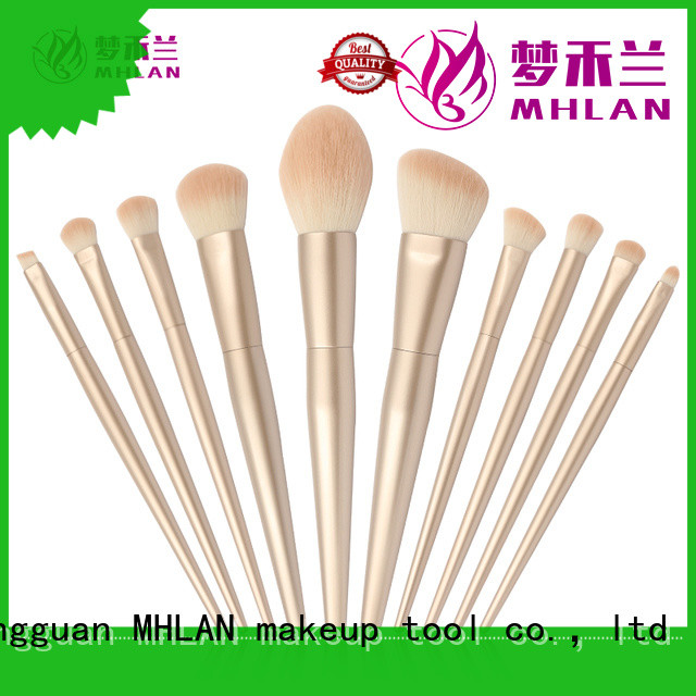 MHLAN 100% quality makeup brush kit from China for wholesale