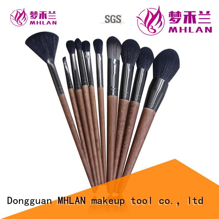custom full makeup brush set from China for distributor