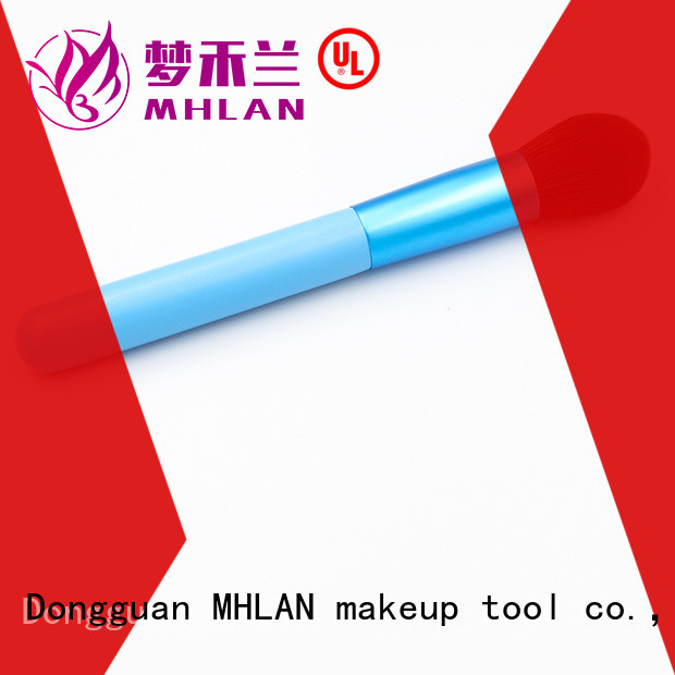 MHLAN angled blush brush overseas trader for wholesale