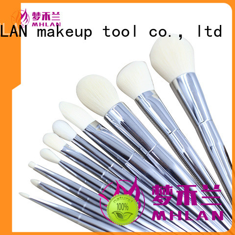 MHLAN custom best makeup brushes kit from China for distributor