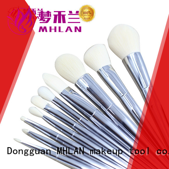 MHLAN 100% quality best makeup brush set factory for wholesale