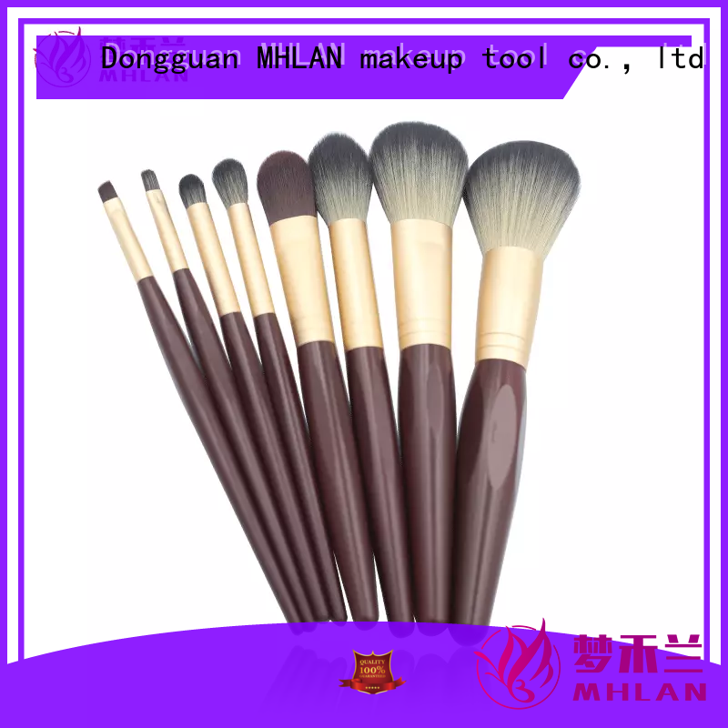 MHLAN best makeup brush set supplier for cosmetic