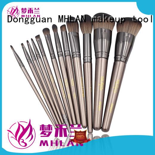 custom travel makeup brush set supplier for wholesale