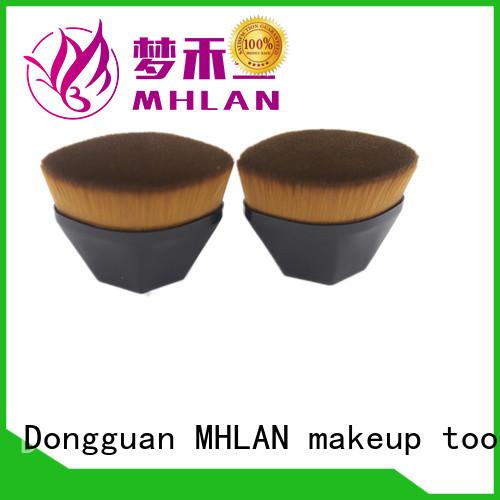 MHLAN custom retractable kabuki brush overseas trader for distributor