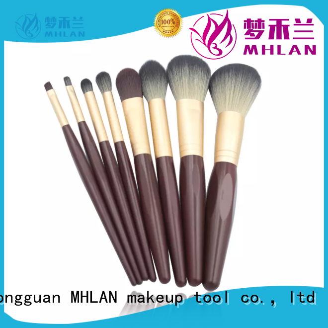 MHLAN retractable makeup brush manufacturer for cosmetic