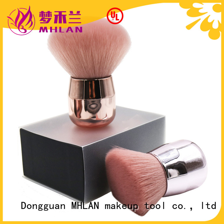 delicate retractable powder brush supplier for beauty