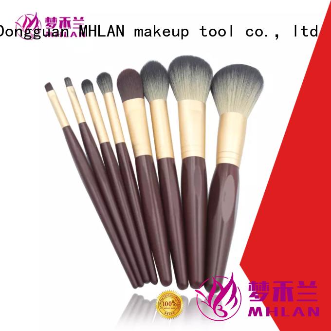 custom makeup brush kit supplier for wholesale
