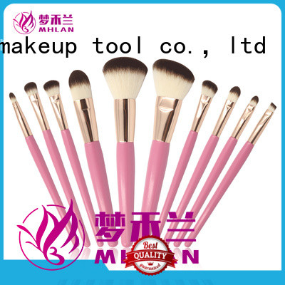100% quality makeup brush set factory for cosmetic