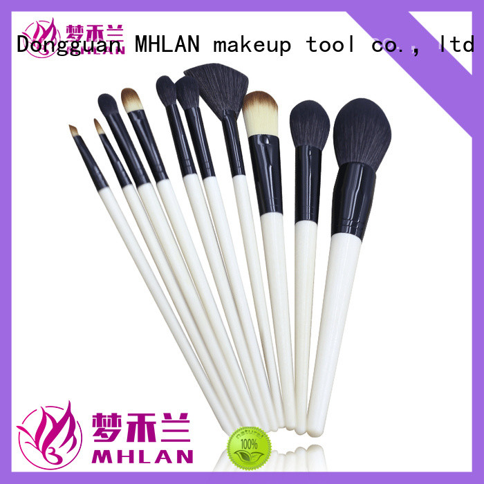 MHLAN 100% quality cosmetic brush set supplier for cosmetic