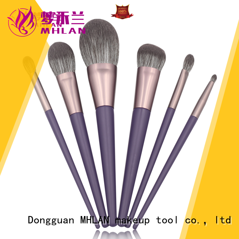 custom face makeup brush set from China for distributor
