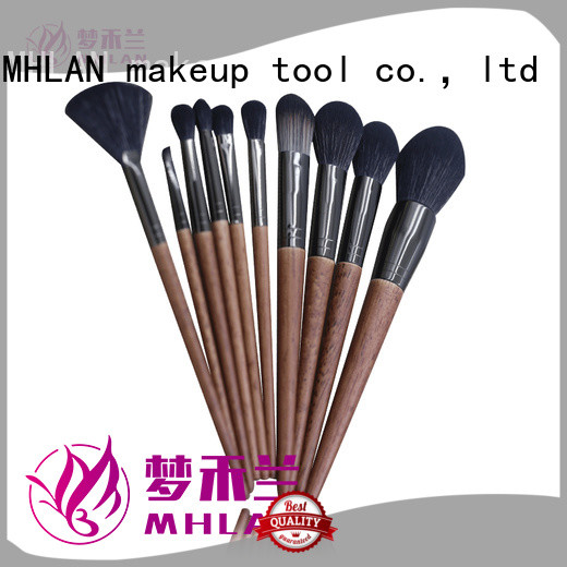 MHLAN 100% quality best makeup brushes kit factory for distributor