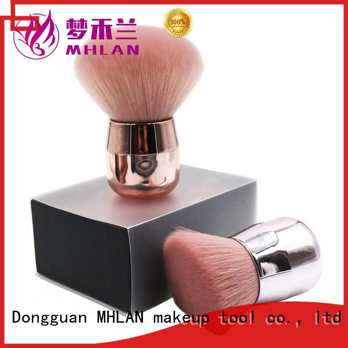 custom loose powder brush factory for beauty