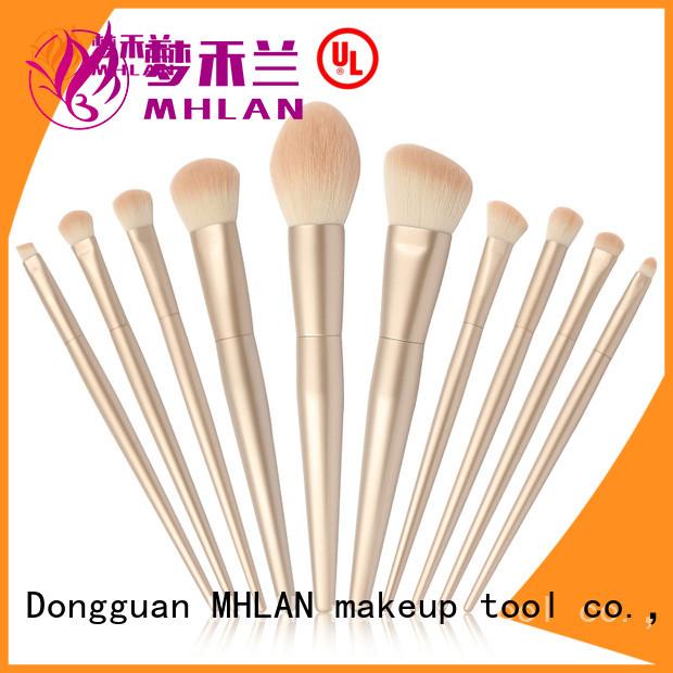 MHLAN custom kabuki brush set from China for wholesale