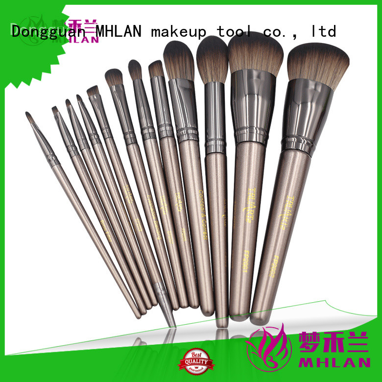 100% quality professional makeup brush set factory for cosmetic