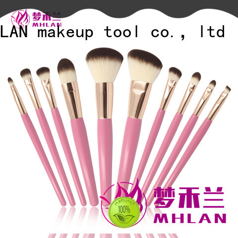 custom makeup brush set low price from China for wholesale