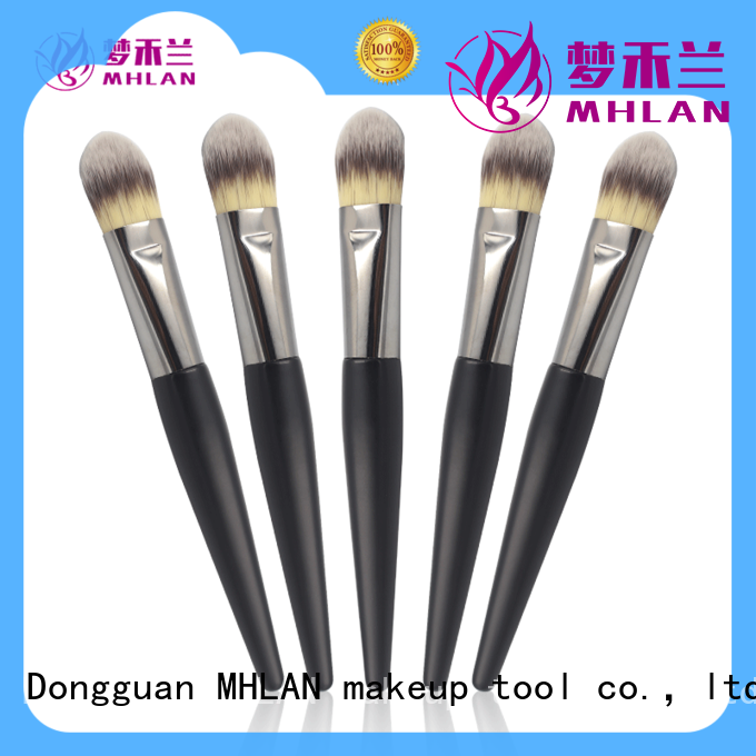 MHLAN fashion round makeup brushes factory for sale