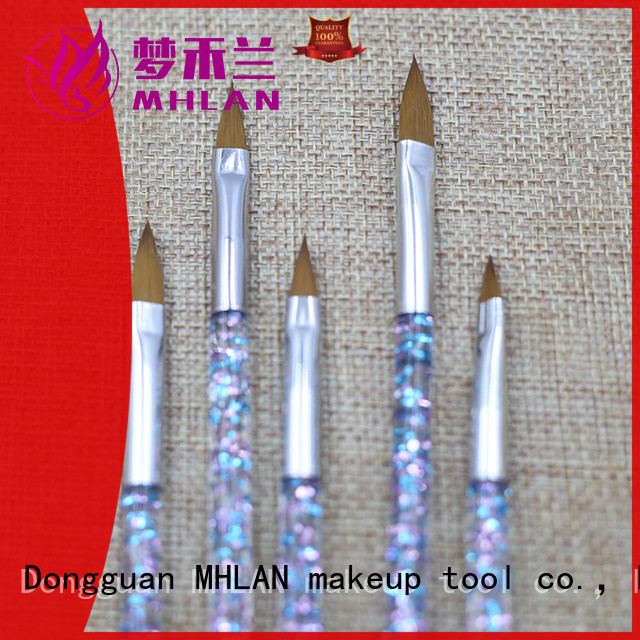 MHLAN simple nail brush set factory