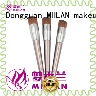 MHLAN multipurpose fan makeup brush factory for sale