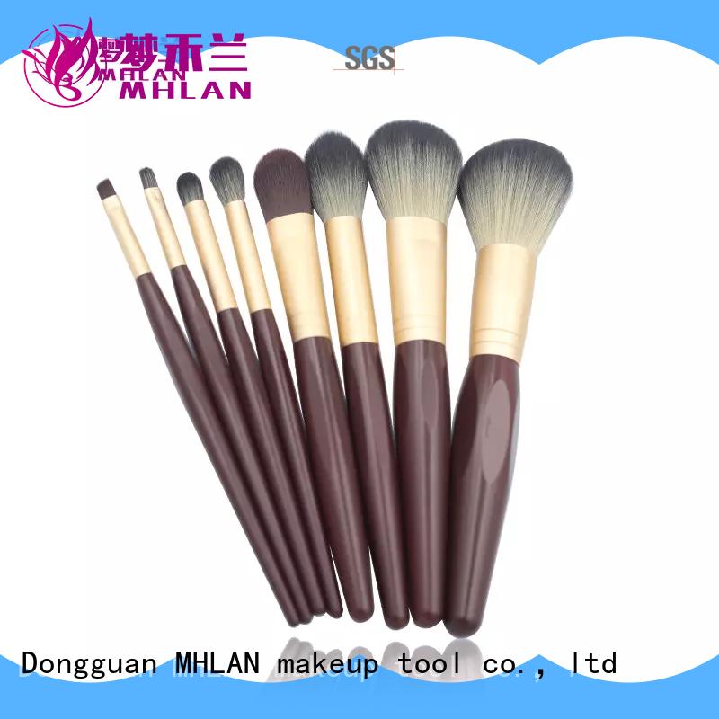 MHLAN custom best makeup brush set factory for cosmetic